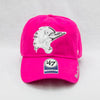 Fayetteville Woodpeckers 47 Brand Youth Girls Sparkle Pink