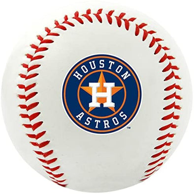 Houston Astros Rawlings Primary Logo Replica Baseball