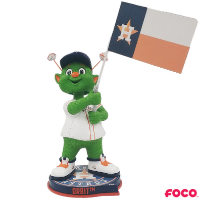 Houston Astros Forever Collectibles Orbit Astros Flag Bobblehead