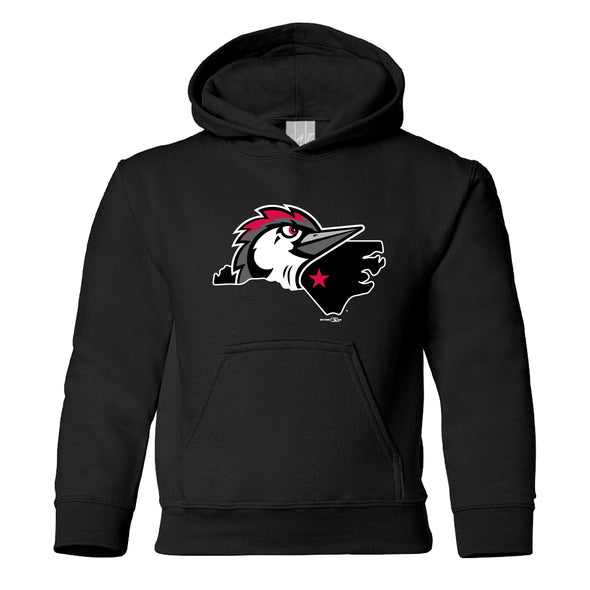 Fayetteville Woodpeckers Youth Sweatshirt Black