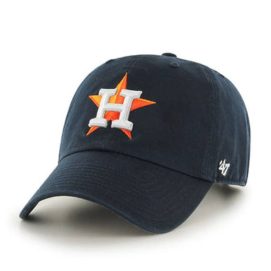 Houston Astros Men's '47 Brand Replica Clean Up Hat