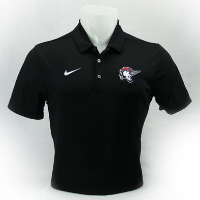 Fayetteville Woodpeckers Men's Nike Polo Black