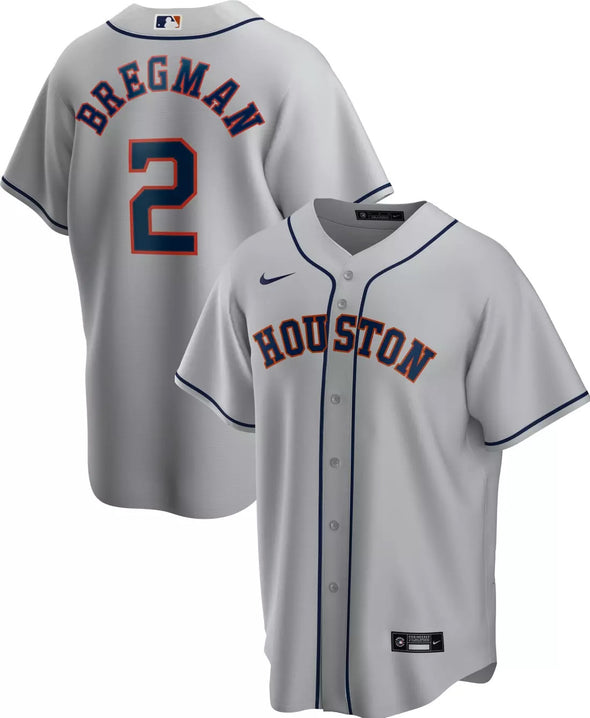 Houston Astros Men's Nike Alex Bregman Replica Jersey
