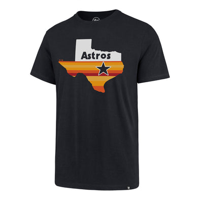 Houston Astros Men's '47 Brand Texas Rainbow T-Shirt