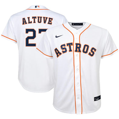 Houston Astros Youth Replica Jose Altuve Jersey