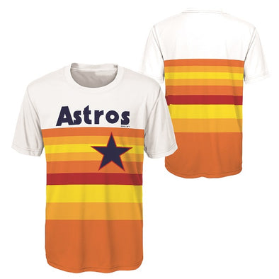 Houston Astros Toddler Rainbow Body Synthetic T-Shirt