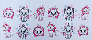 Marie Aristocats Stickers
