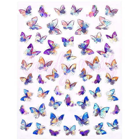 Butterflies 2 Stickers