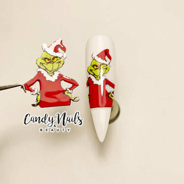 Grinchy Stickers! NEW.