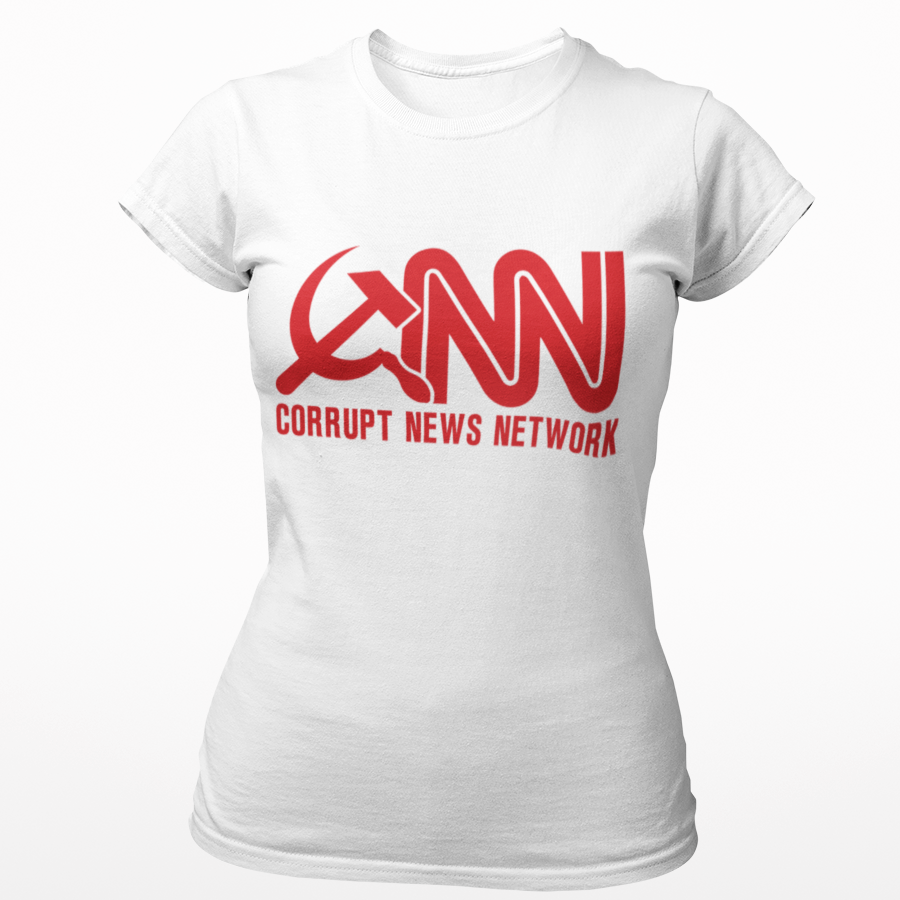 Corrupt News Network Cotton Tee Shirt