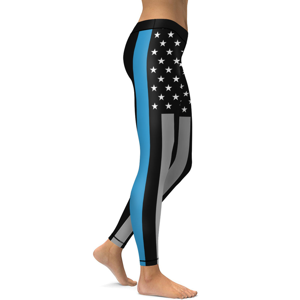 Patriot Black and Blue Leggings