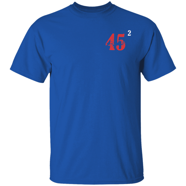 45 Squared Cotton T-Shirt
