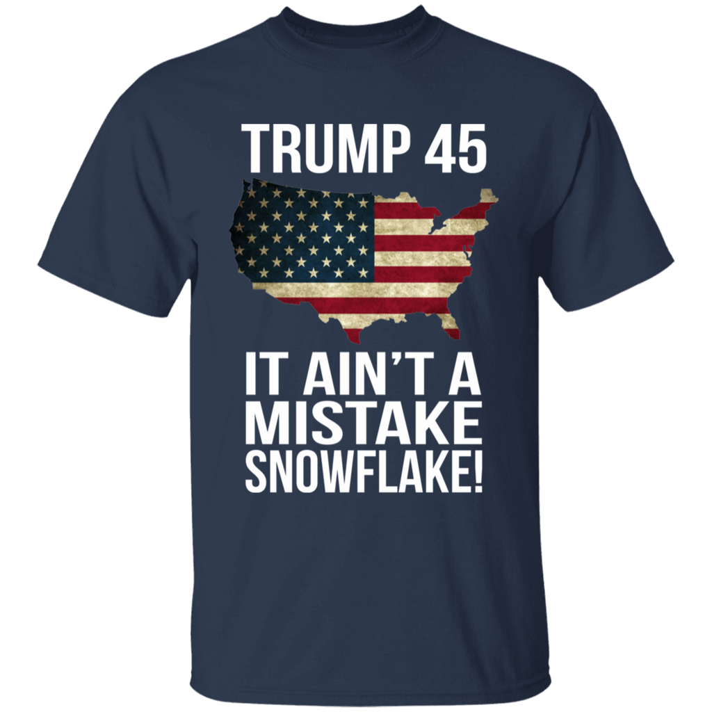 Trump 45 Snowflake Cotton T-Shirt