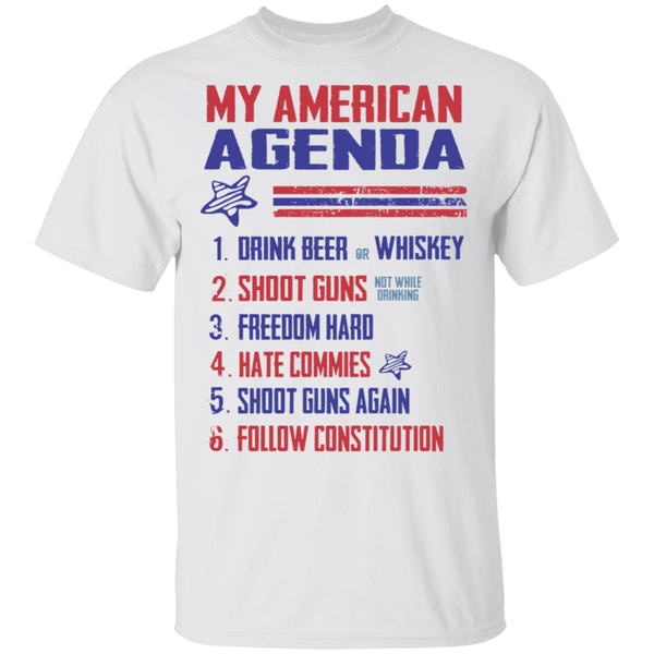 My American Agenda Cotton T-Shirt