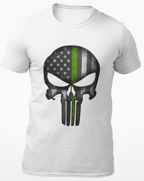 St . Patty's Punisher Skull Tee Shirt
