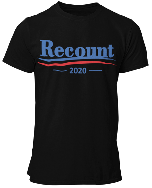 Recount 2020 Cotton Tee Shirt
