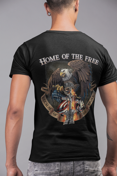 Home of the Free Tee Shirt
