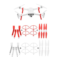 Load image into Gallery viewer, 4PCS Folding Propeller+ Extended Heighten Leg Tripod For Xiaomi FIMI X8 SE Drone Drone Quadcopter children kids toys 2019 #G20