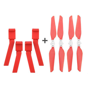 4PCS Folding Propeller+ Extended Heighten Leg Tripod For Xiaomi FIMI X8 SE Drone Drone Quadcopter children kids toys 2019 #G20