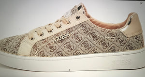 Beckie Logo Print Sneaker by GUESS