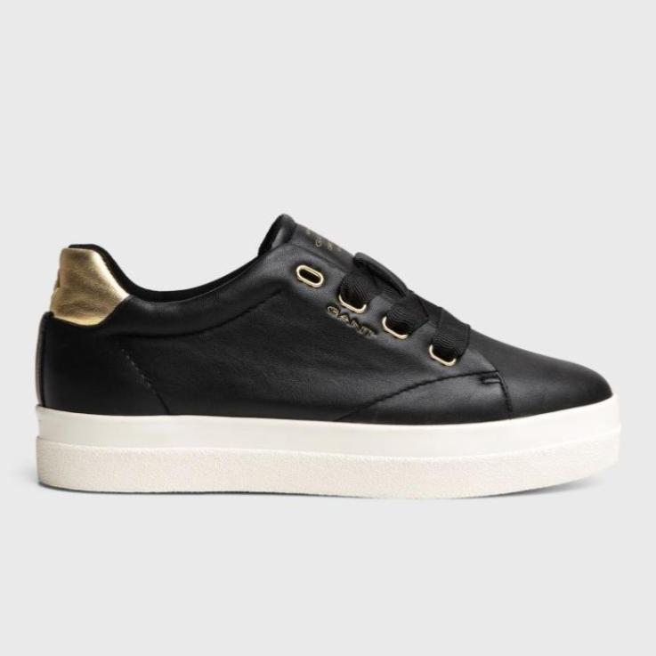 GANT Aurora Black Leather Shoe
