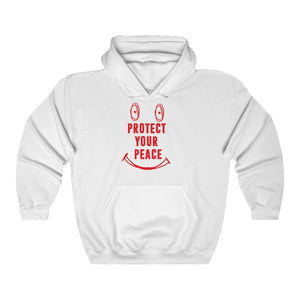 Protect your peace red print hoodie Unisex Heavy Blend™ Hooded Sweatshirt
