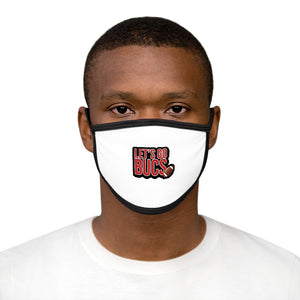 LETS GO BUCS Mixed-Fabric Face Mask