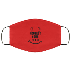 Red protect your peace Face Mask