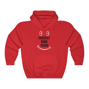 Protect your peace Red hoodie Unisex Heavy Blend™ Hooded Sweatshirt
