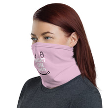 Load image into Gallery viewer, Pink Protect your peace face mask