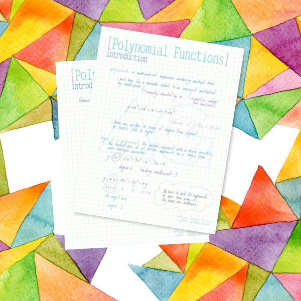 Polynomial Functions: the basics - AG Tutoring