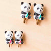 Panda Cable Stoppers (for HiyaHiya Interchangeable Cables)