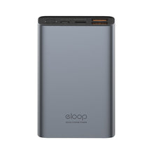 Load image into Gallery viewer, eloop E36 12,000 mAH Aluminum Power Bank with USB-C - Free Shipping