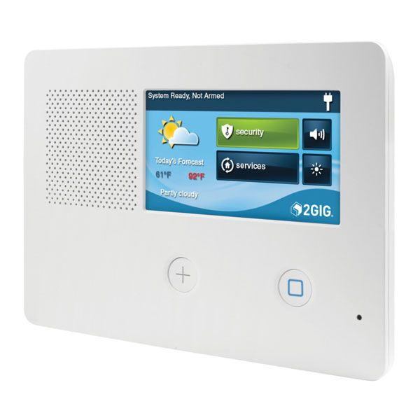2GIG eSeries GC2e Security Alarm & Home Automation Control Panel
