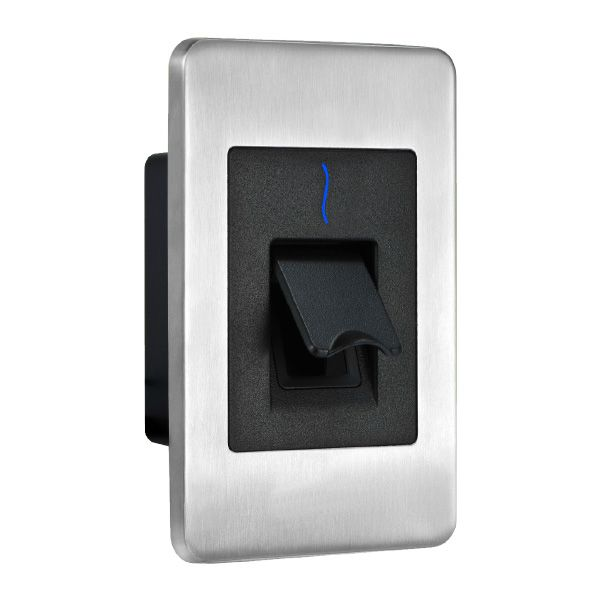 ZKTeco FR1500-ID Flushmount Slave Fingerprint Reader with Built-in Prox Reader