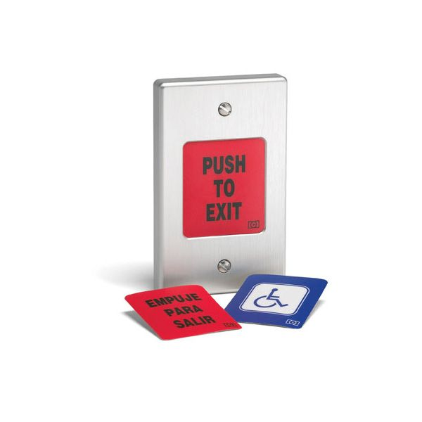 Linear Request to Exit Button For Access Control (EZ-Rex)