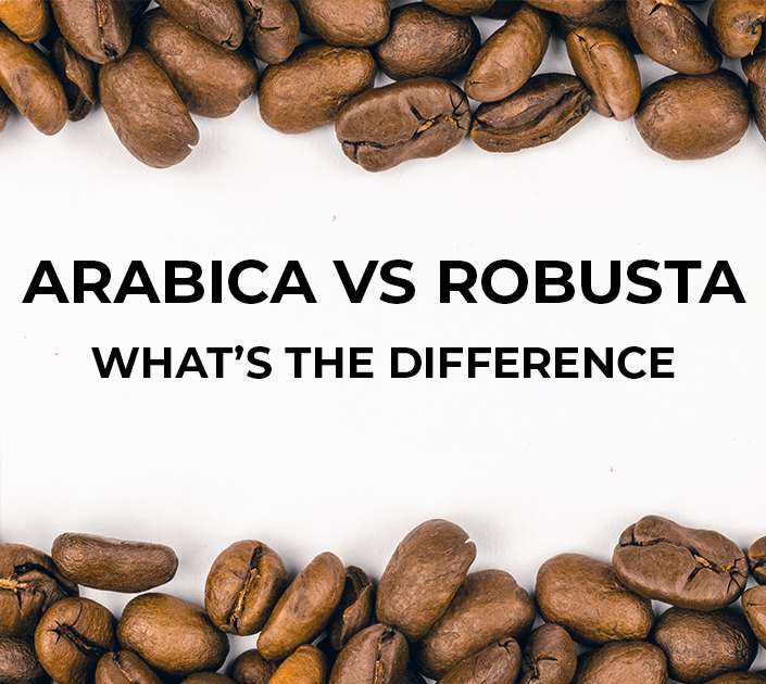 The basic differences between Arabica and Robusta