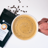 "Coffee Infused With Full-Spectrum Organic Herb Extract | Gourmet & Healthy Coffee	Your Inner Peace and Calm Normalize your sleep patterns and reduce stress and anxiety with Calming Energy! This coffee blend is packed with a full-spectrum herb extract. SHOP NOW! "" CALMING ENERGY COFFEE"""