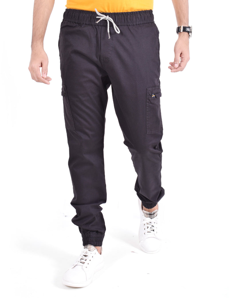 ADNOX Cotton Joggers for Men (Coffee Brown)