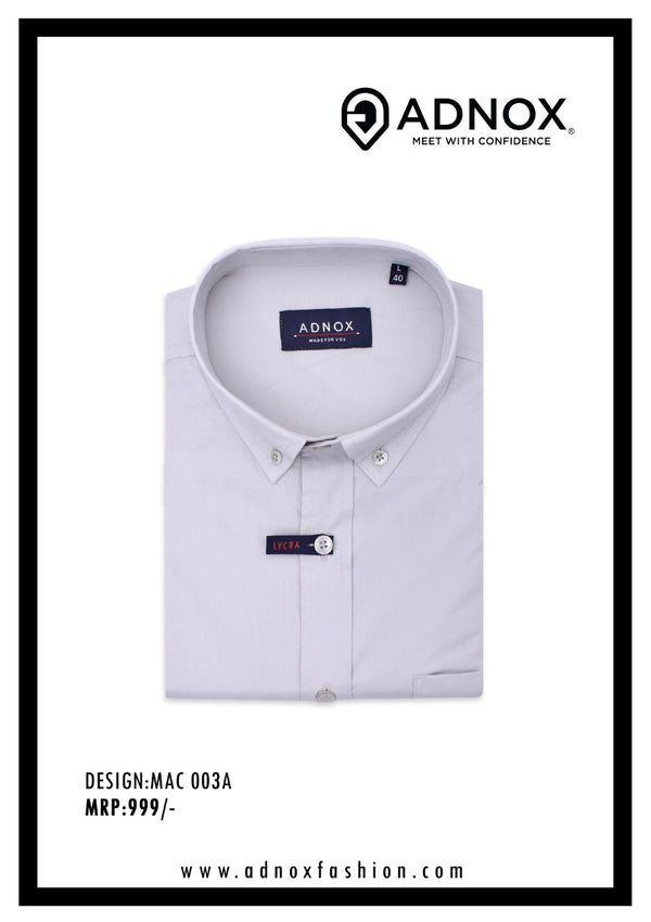 Lilac Solid Shirt for Men