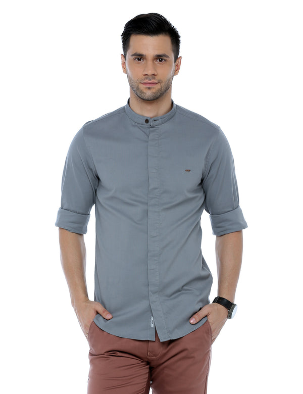 ADNOX Striped Casual Full Sleeve Cotton Slim Fit Shirt for Men