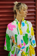 Load image into Gallery viewer, Vintage Catherine Ogust Kaftan Dress