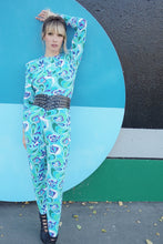 Load image into Gallery viewer, Vintage Psychedelic Print Catsuit