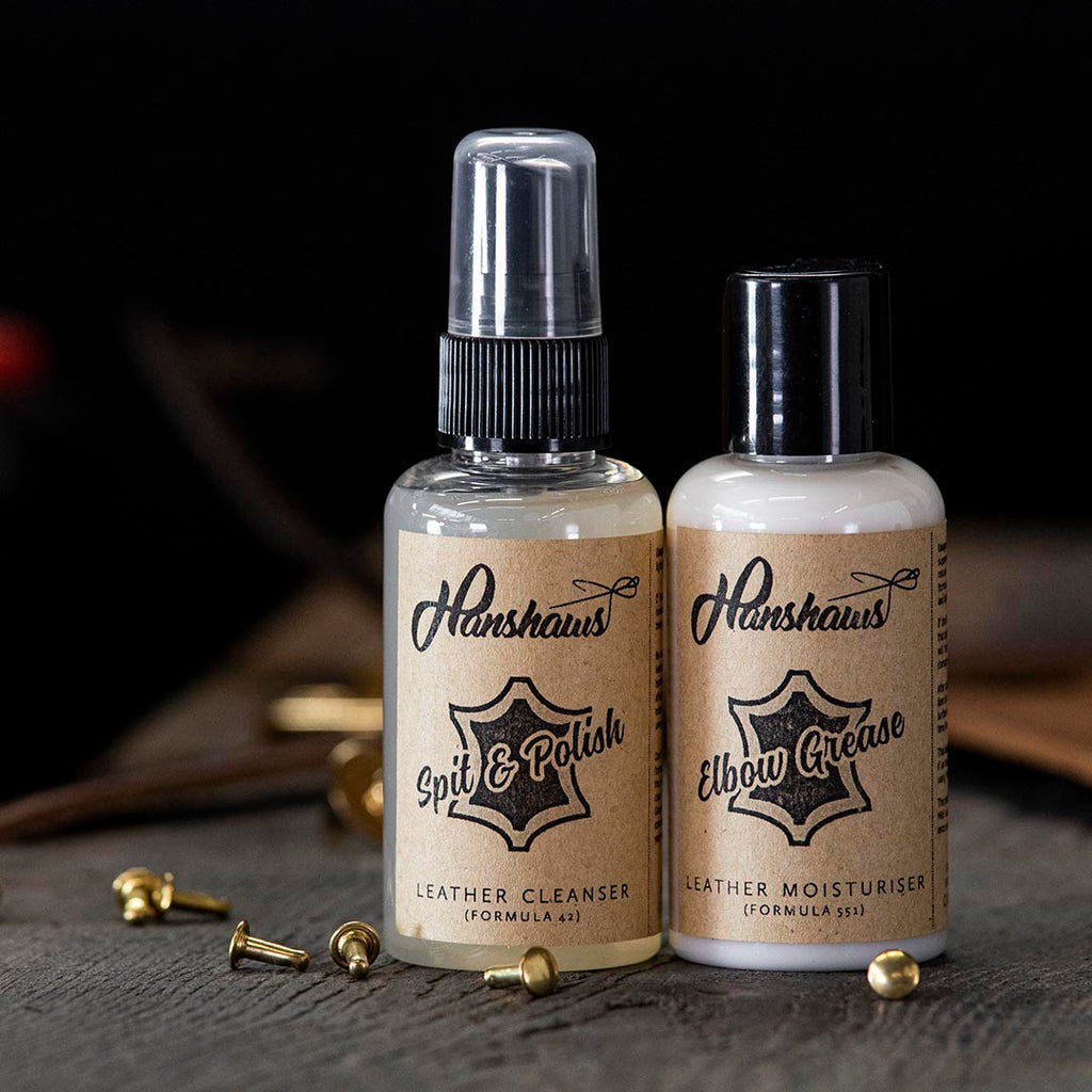 Hanshaw's Leather Care Pack