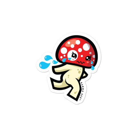 Karma Ace: Run Mushy-chan! - Sticker