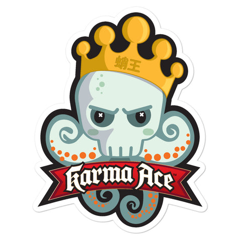 Karma Ace - Tako King - Sticker