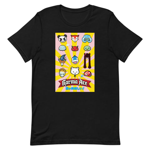 Karma Ace: Tasty Heads - Short-Sleeve Unisex T-Shirt