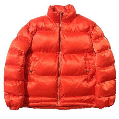 RED 3M REFLECTIVE PUFFER JACKET