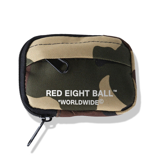 *WORLDWIDE© LOGO CAMOUFLAGE SIDE STASH POUCH