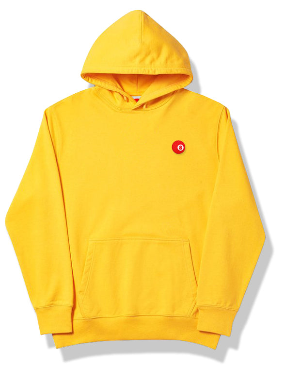 RED 8 BALL™ LOGO HOODIE YELLOW